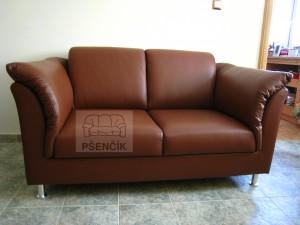 moderní české kožené sedačky