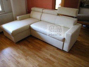 kožená moderní sedačka