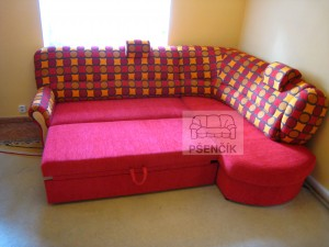 kvalitní rohová sedačka