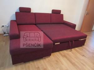 moderní rozkládací sedací souprava na míru