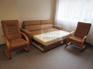 rozkládací sedací souprava na míru