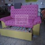 rozkládací vysoká sedačka na míru
